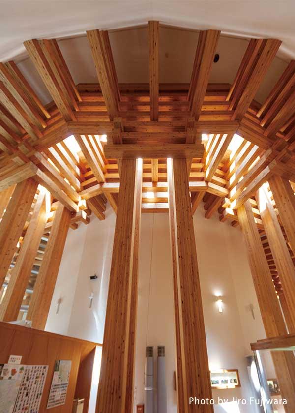 木の殿堂内部